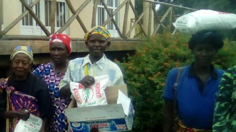 COVID aid uganda