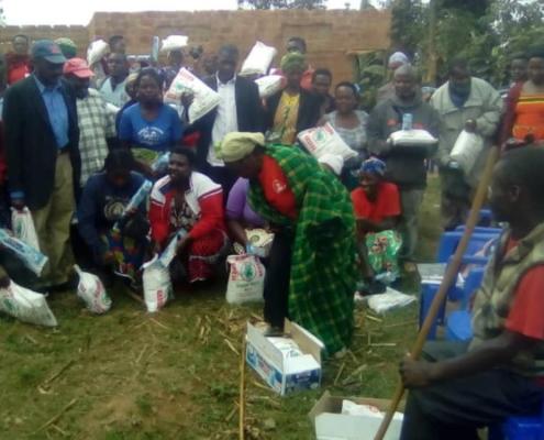 Emergency aid bunyonyi uganda