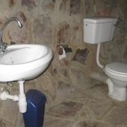 Gerbera bathroom