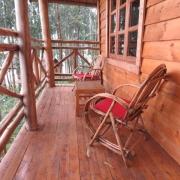 Hibiscus tree house balcony
