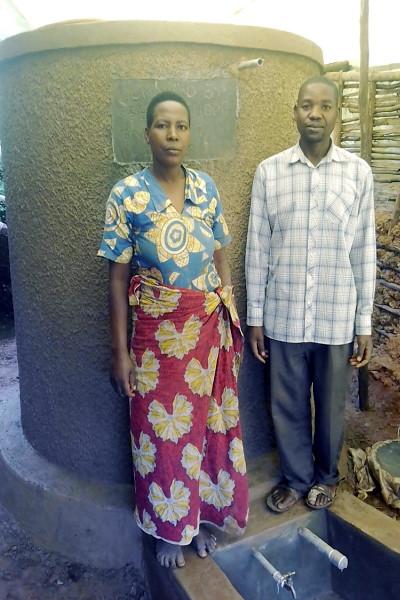 Water tank donation uganda