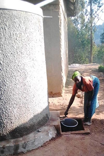water tank bunyonyi