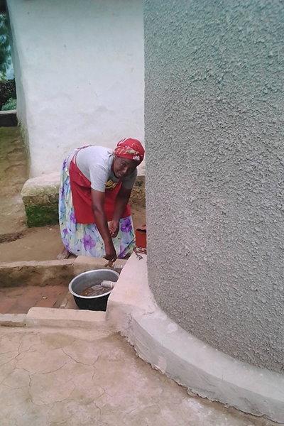 water tank donation