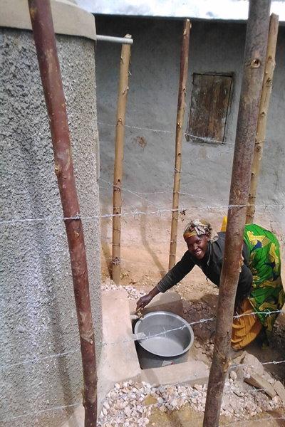 water tank uganda